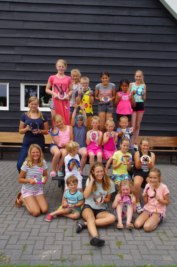 Animatie op camping Zuid Holland
