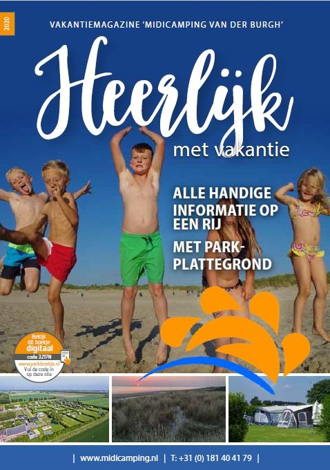 Bekijk hier het parkboekje Midicamping Van der Burgh 2020